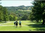 Walk to Bennett Valley Golf Course