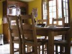 Wheel cottage kitchen diner