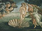 The Birth of Venus is a painting by Sandro Botticelli held at the Uffizi Gallery in Florence.