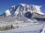 The Zugspitze (the highest mountain of Germany) 26 km from Ogau