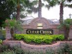 Entrance to Clear Creek