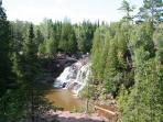 Middle Falls at Gooseberry State Park (9 mi. south)