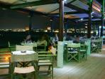 Sea side Locality in Longos in the night