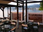 Seaside coffee bar in Longos 350 m from Harmony
