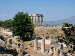 In the ancient city of Corinth, 1-day excersion from Harmony