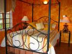 Two air conditioned bedrooms with queen size beds