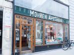 2 minutes walk: the Mohren pharmacy, very helpful staff