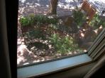 Santa Fe Garden from Bedroom