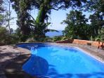 Wonderful , private ocean view pool