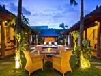Exterior and tropical garden