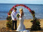Another beautiful beach wedding