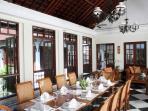 Villa Batavia - Air Conditioned Dining Hall