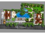 Villa Batavia - Floorplan ground floor