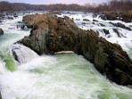 Great Falls - Maryland Side - Amazing Powerful Water, See an Old Fashioned Ship - Small Entrance Fee
