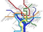 Metro Map - Closest Station is W. Falls Church - 10 mins from house or there is a bus within a block