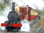 Catch the frequent Steam Train to Douglas
