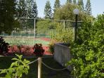 Two Tennis Courts on the Property Are Available for Guest Use