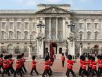 Buckingham Palace and the Royal guards