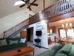 Family Room and Loft area