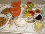 Sumptuous Continental Breakfasts