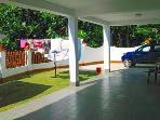 First  Garage area