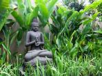 Buddha watching over the Villa