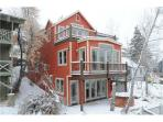 Gorgeous 4 bedroom luxury Park City home walk to Main street & town ski lifts at PCMR