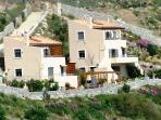 Anemos luxury villas in South Crete