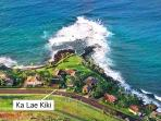 Ka Lae Kiki - Kauai's southern most point