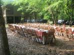 The grounds are perfect for weddings and private parties