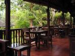 Dining Area, Murni's Houses, Ubud, Bali