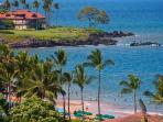 From L509 Sandcastles Suite - Enjoy a Telephoto View of Wailea Beach Taken from L509 - You Can See The Beach!