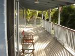 wide verandahs