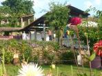 Yavanna - Yoga Deck from the Organic Veggie Garden