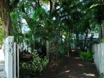 Lushly Landscaped Garden Area and Off Street Parking
