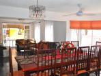 Villa Flamingo Dining Room