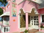 Villa Flamingo Entrance
