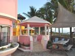 Villa Flamingo Private Gazebo For Dining and Drinks