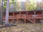 Autumn at Cataloochee Mountain Cabin