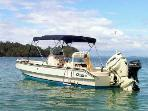 22ft. boat for pacific tours