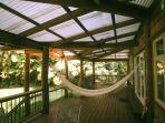 main house porch hammock