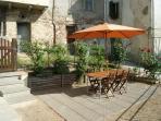private court garden