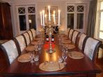Dining Room seating 14