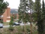 View of Buffalo Mountain from balcony