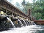 Tirta Empul Water Gardens at Tampaksiring Palace