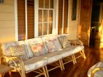 Retreat Plantation House - front veranda morning light