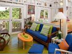 Bright, clean,breezy interior