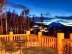 View of Big Sky Resort from Cascade Ridge's Lodge