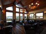 View from the lodge main room.