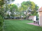 Expansive Backyard with Patio